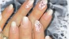 ongles de mariée