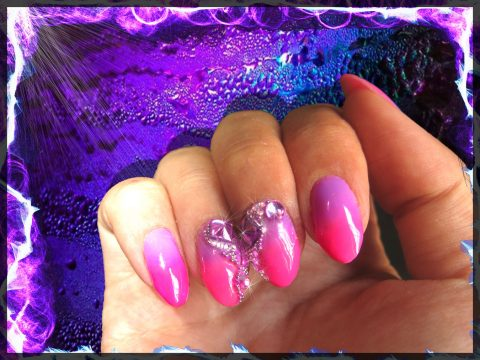 semi-permanent-dagradé-violet-rose-et-strass