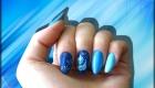 vernis permanent bleu et one stroke